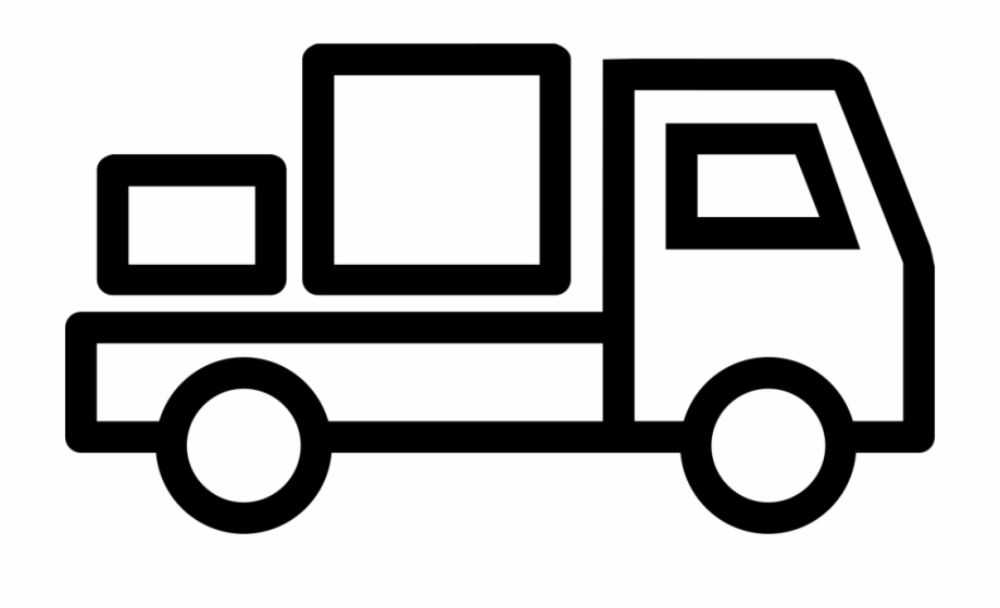 delivery van svg